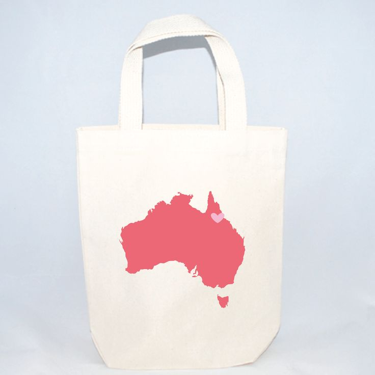 Australia Destination Wedding Totes - Small