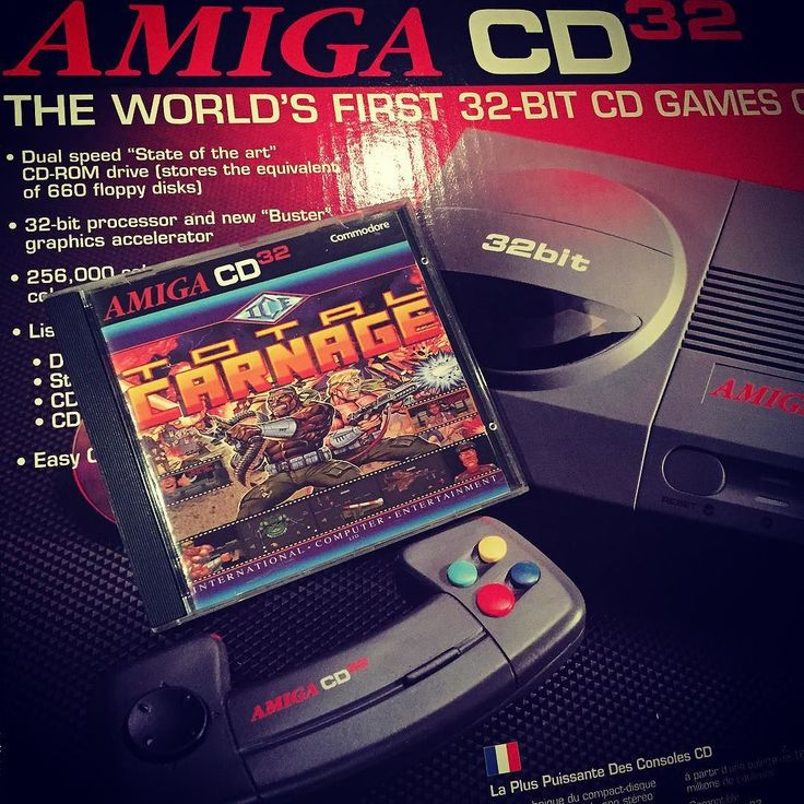 On instagram by retro_gaming #retrogaming #microhobbit (o) http://ift.tt/1P3Ku0C!  I bought my first Amiga CD32 game for the system I got this Xmas and it won't start >_< is there region locks on this system? I bought the console in Sweden but when opening the box it had the American antenna cable it didn't have a power adaptor do I bought a European one from eBay. I get the system to start and I see the logo but when I load the game it turns black and the CD just keeps spinning... I waited…