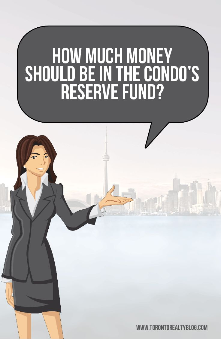 """How Much Money Should Be In The Condo's Reserve Fund?  Some folks refer to the reserve fund as the """"rainy day fund,"""" since that's essentially what it's for.  The maintenance fees collected each and every month serve in part to run the condominium, but also to save for a rainy day.  And perhaps this is where we should make a very important distinction: an """"increase in contribution to the reserve fund"""" and an """"increase in maintenance fees"""" is not the same thing. READ THE REST:  #realestate"""