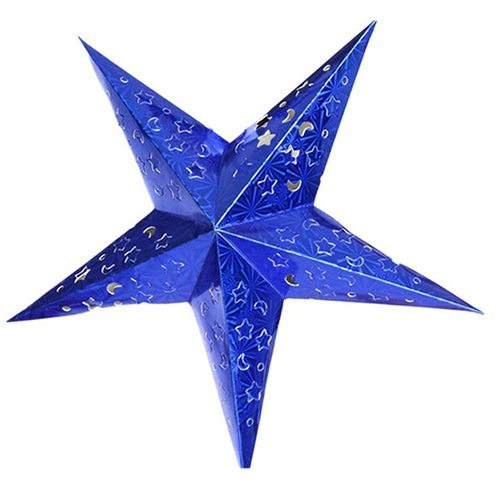 Cheap paper lantern, Buy Quality star paper lantern directly from China wedding decoration accessories Suppliers: Fashion Xmas Decor Pentagram Lampshade Star Paper Lantern Hanging Wedding Accessories  Blue