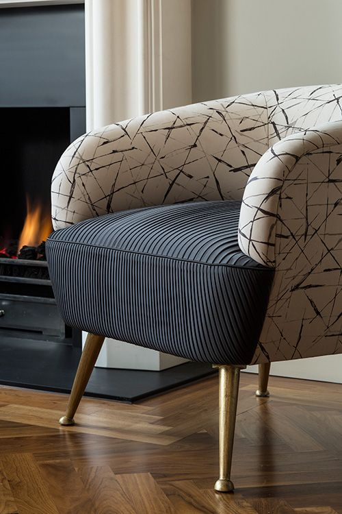 split fabric chair Specialist Upholstery | Aiveen Daly