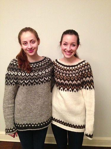 Ravelry: KayGardiner's Maggie's Riddari (lopi sweaters)