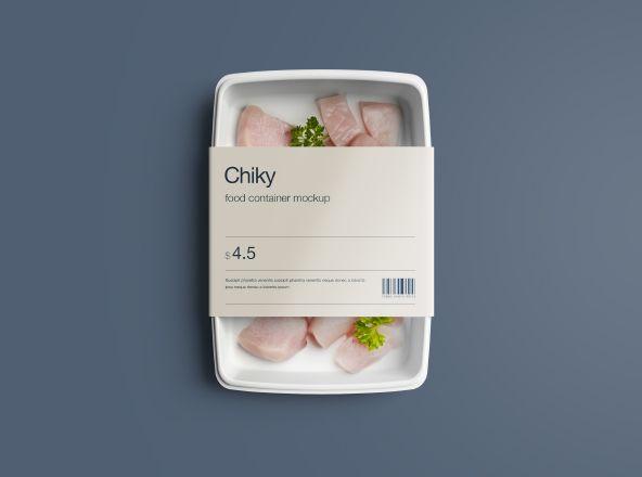 次の @Behance プロジェクトを見る : 「Disposable Food Container Package Mockup」 https://www.behance.net/gallery/37516571/Disposable-Food-Container-Package-Mockup