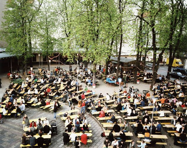 There's not better place in Berlin to sip beer than the Prater Biergarten in Prenzlauer Berg. (The adjoining restaurant serves great renditions of German classics.)