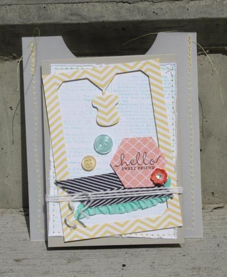 Stampin' Up! Artisan Design Team - Sarah Sagert - Six-Sided Sampler & Dictionary - www.sarahsagert.stampinup.net/blog