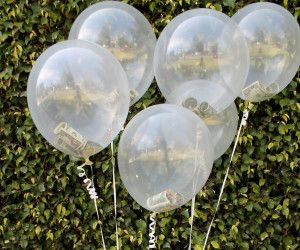 DIY Money Balloon Easter Basket