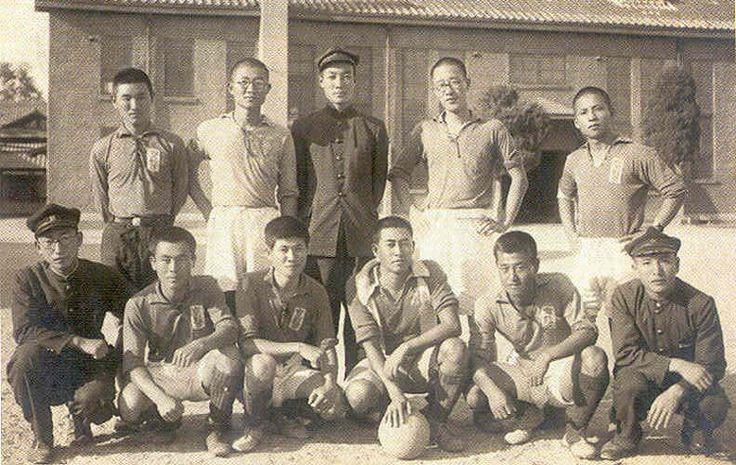 College football team, Seoul, Korea around 1935
