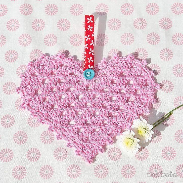 63 best Crochet heart images on Pinterest | Crochet hearts ...