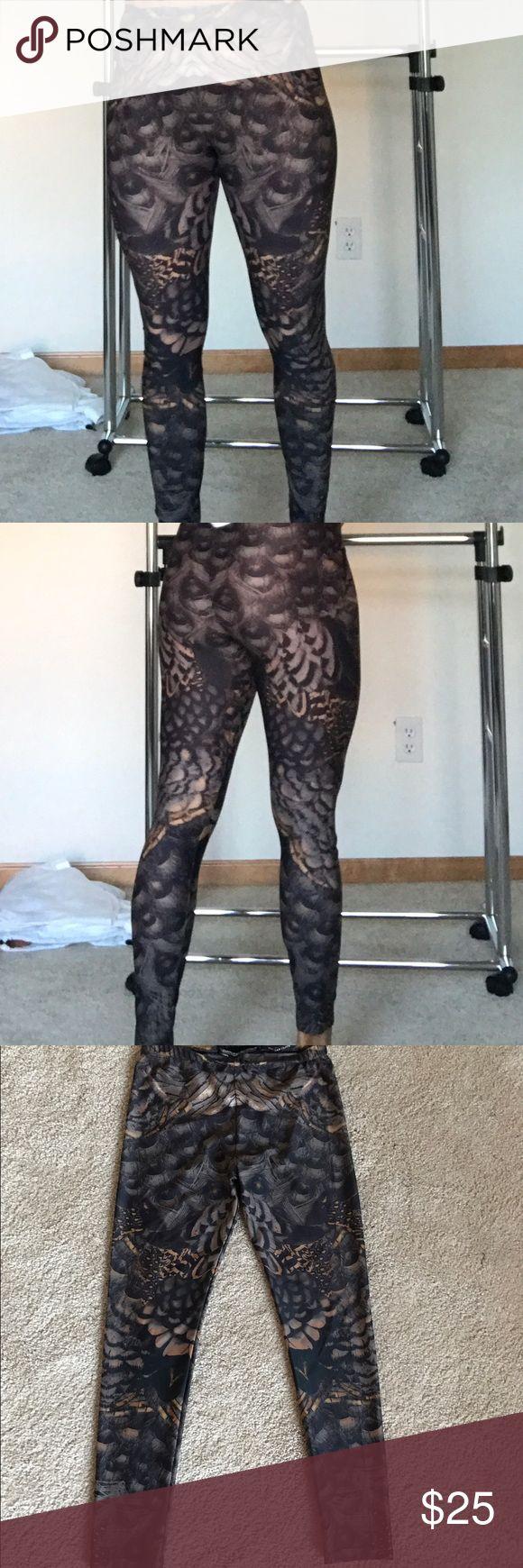 Allsaints leggings. Funky leggings in super quality. Excellent condition, like new. allsaints Pants Leggings