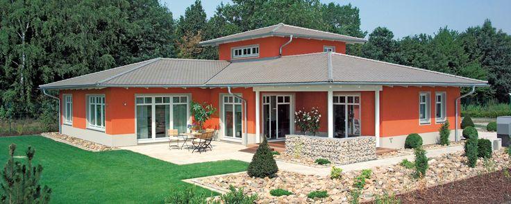 Fertighaus mediterran bungalow  Kampa - der Fertighaus Profi in Aalen-Waldhausen. Häuservielfalt ...