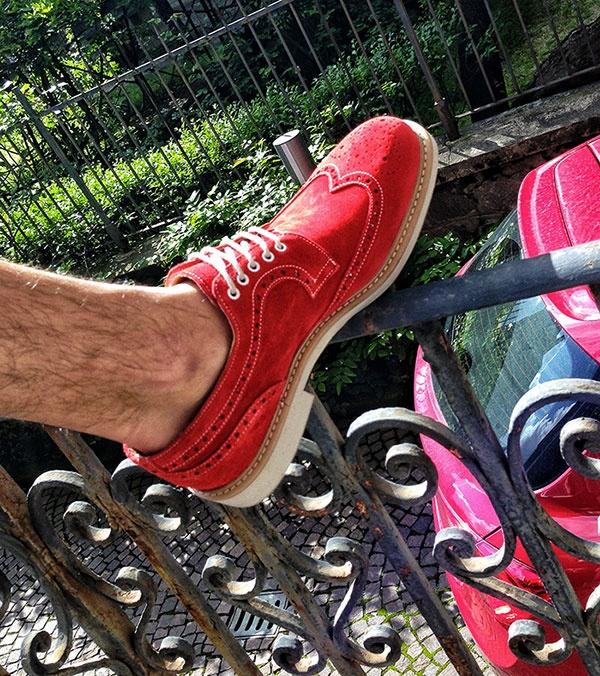 RED Shoes...Ferrari...Snob Shoes