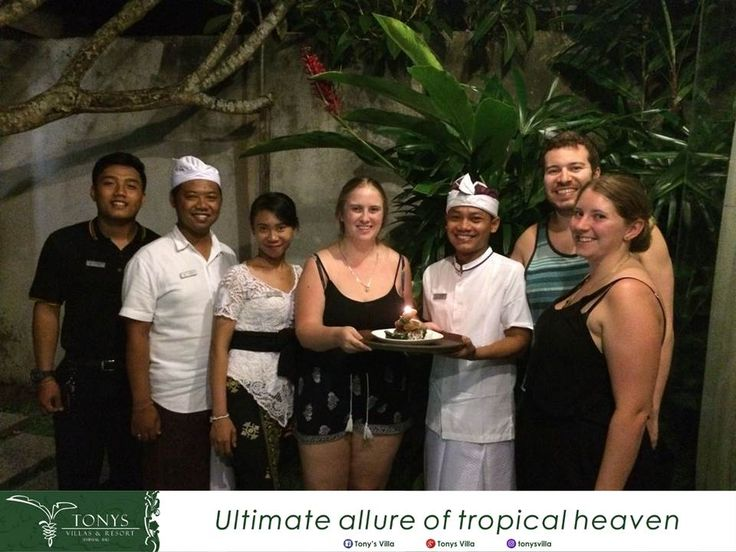 Happy birthday Ms. Ashleigh maddison cook we wish you all the best and thank you for choosing Tonys Villas & Resort Seminyak Bali for your stay. It's our pleasure to deliver you a surprise on your special day. . . . #Bali #Seminyak #vacation #holiday #wonderfulplaces #honeymoon #birthday #surprise #tonysvilla #balimagic #photooftheday #staydifferent #letsgosomewhere #villainseminyak #holiday #surprise #birthday #smallparty www.balitonys.com