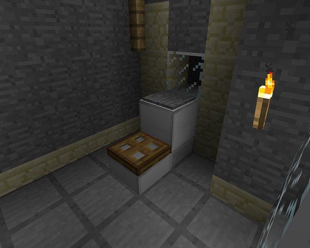 bathroom ideas minecraft