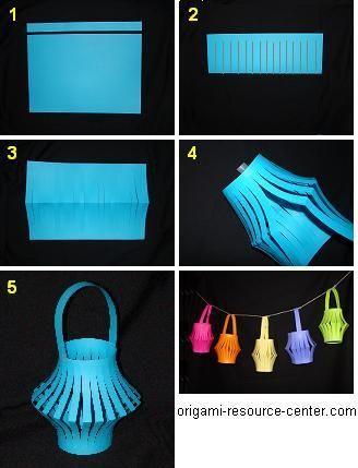 DIY Lanterns : DIY Make a Paper Chinese Lantern