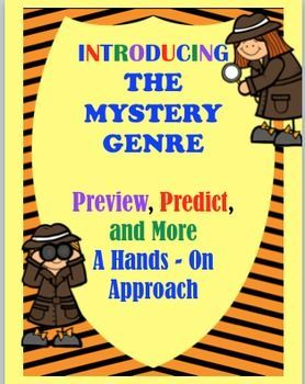 HANDS-ON PROJECTS Your students will be excited to learn about Previewing and Predicting with this motivational resource. The activities can be an engaging addition to an already existing Mystery Unit or can be used alone when teaching this skill. Lots of WOWs to jump start the mystery genre using real world ideas that will keep your students wanting more. $