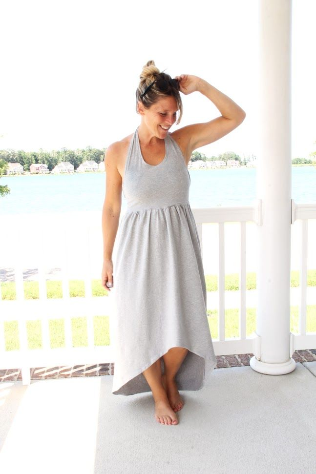 Cross Back Maxi