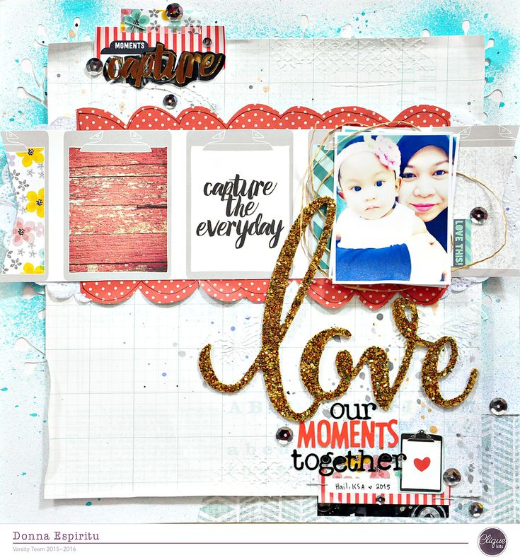 Love our moments together   Memorandum by Pink Paislee