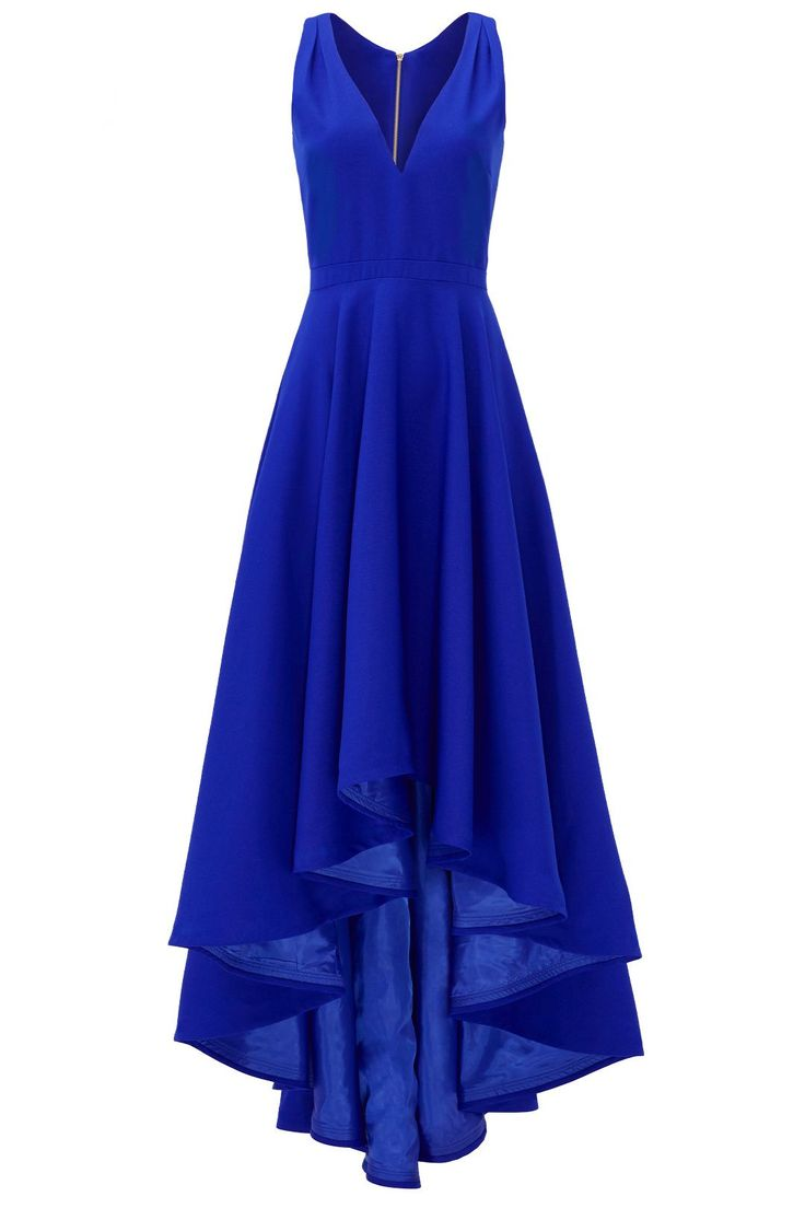 Cobalt Marilyn Gown by allison parris for $100 | Rent The Runway