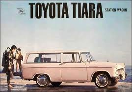 Toyota-tiara...like mine ..and it's back with me