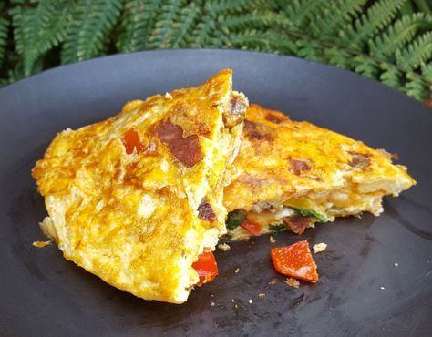 Mexican omelette with chorizo - CookTogether