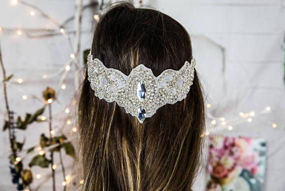 Wedding headpiece halo, bridal headband, bridal headpiece, wedding hair jewelry, head chain, wedding hair accessories, hair floaters, bohemian bridal headpiece, bohemian headband, bohemian bride, bohemian hair jewelry  ******************************************** The Princess Jasmine