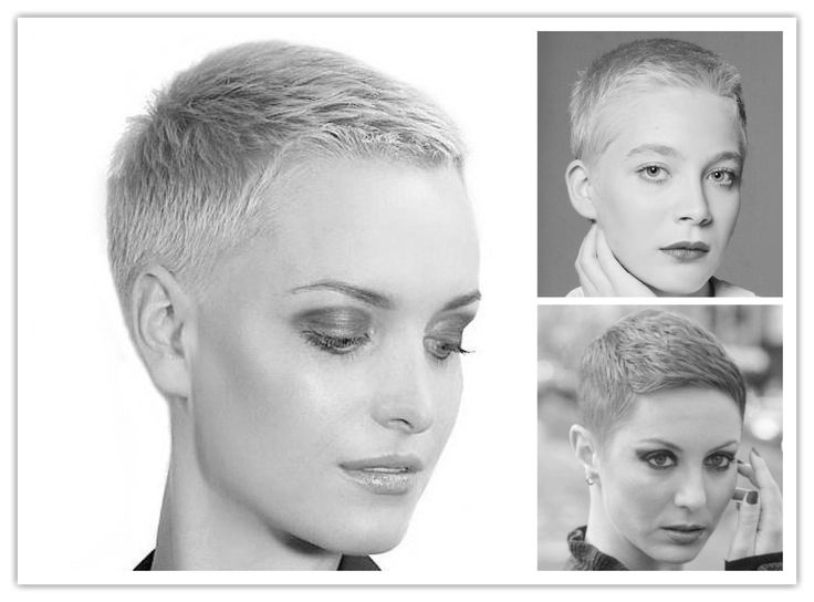 U Cut Hairstyle For Short Hair: 25+ Best Ideas About Buzz Cuts On Pinterest