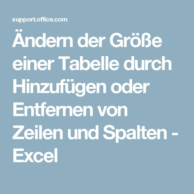 49 best Excel - Table - Tabelle images on Pinterest | Informatik ...