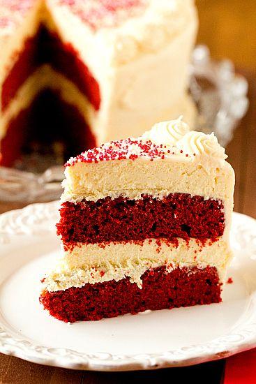 Red Velvet Cheesecake Cake | browneyedbaker.com