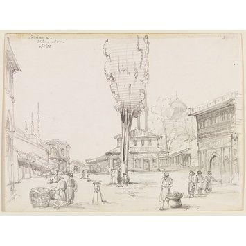 Tophana (Drawing) Sir George Scharf 1844