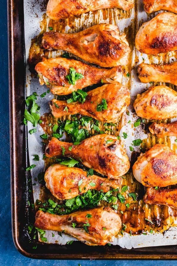 Simple And Delicious Crispy Baked Chicken Legs With Cajun