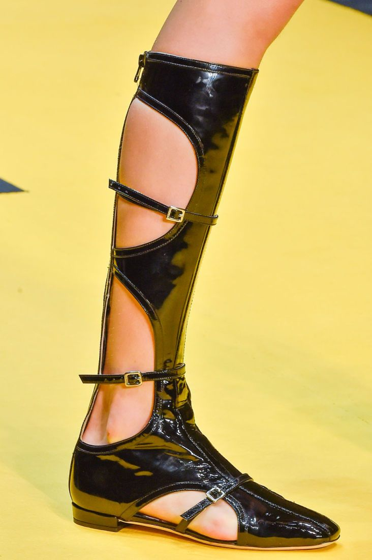 The 50 Best Shoes From the Spring 2015 Runways