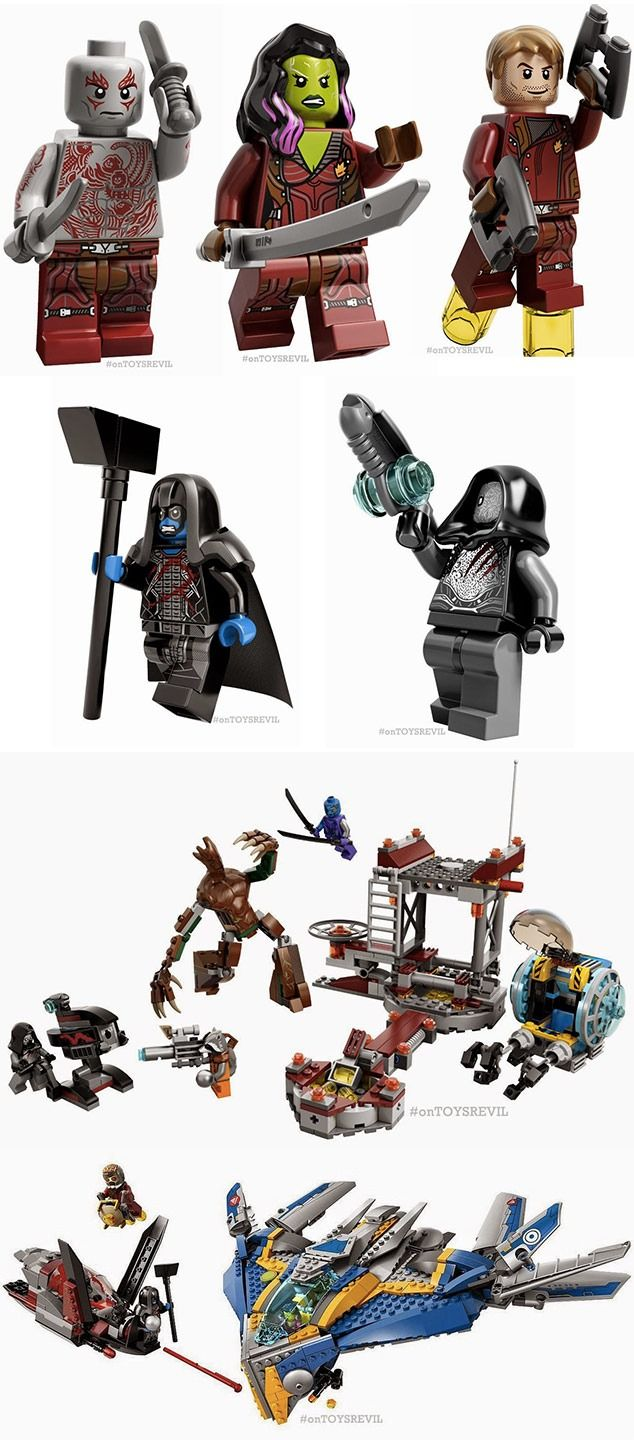 guardians of the galaxy vol 2 lego instructions