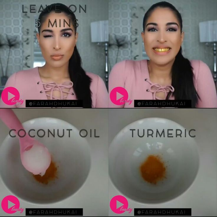 Turmeric + Coconut Oil for teeth whitening. Homemade Remedies By Farah Dhukai!