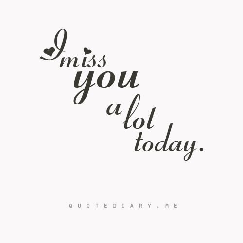 I mean everyday i'm trying to control its so hard to do it .. baby you'r everywhere in my life i love you to the end of this world i mean time things love you more :) <3 i know miss you too :)