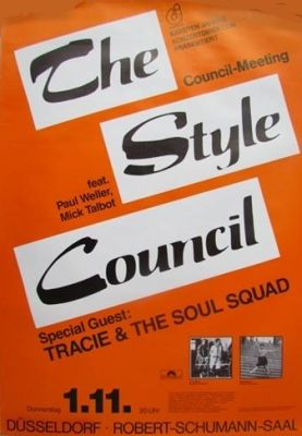 45cat - The Style Council - Speak Like A Child / Party Chambers - Polydor - UK - TSC 1
