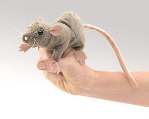 Mini Rat Finger Puppet  |  Folkmanis