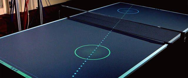 Thomas Mayer, seorang desainer dan tukang kayu yang berbasis di Jerman telah menciptakan sebuah konsep meja ping-pong lebih menarik dibanding Balls of Fury. Mayer menggunakan dua buah kamera PlayStation dan sebuah proyektor HD untuk melacak bola dan mengumpulkan data yang kemudian dapat digunakan untuk memetakan  statistik pemain ke meja.