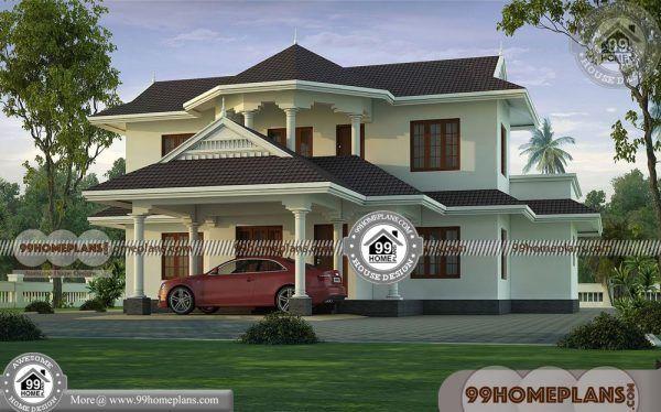 Kerala House Designs Photos 100+ Luxury Double Storey Homes Online