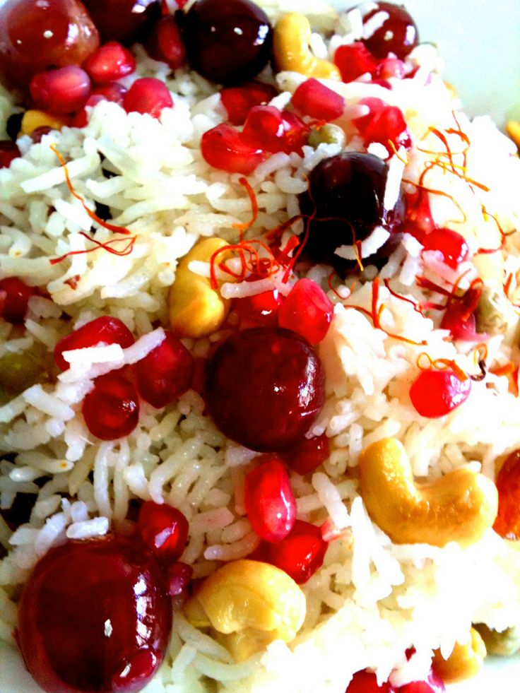 Kashmiri Pulao or Dry Fruit Fried #Rice!!! Perfect recipe for zapping ...