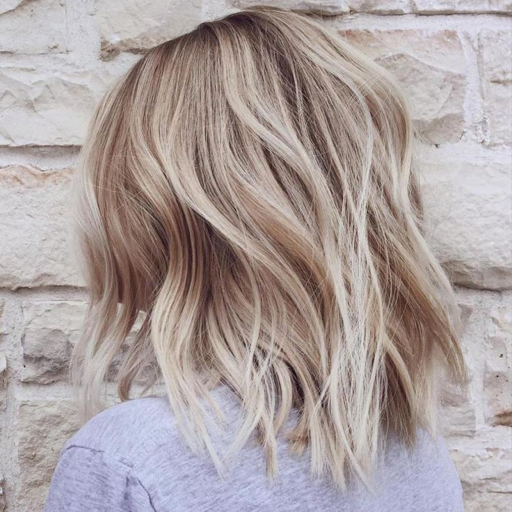Choppy Blonde Bob For Thin Hair Facebook Top Haircuts