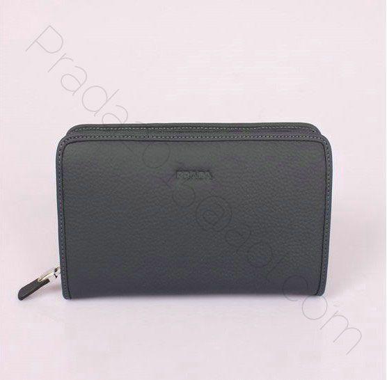 127.00 discount prada mens clutch bag pr9071 dark blue outlet ...