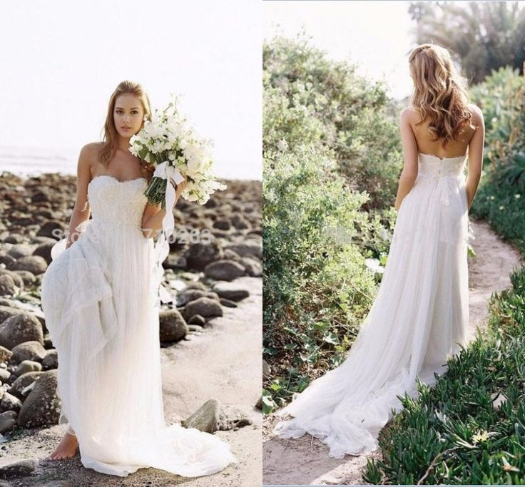 Sweetheart Tulle Long Beach Wedding Dresses Sleeveless Off the Shoulder Lace Appliques Beaded Backless Zipper Bridal Gowns