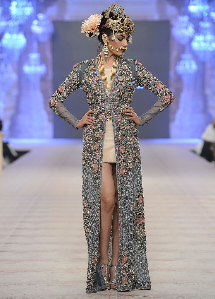 highfashionpakistan:Fahad Hussayn, PFDC L'Oreal Paris Bridal Week, OCT 2014