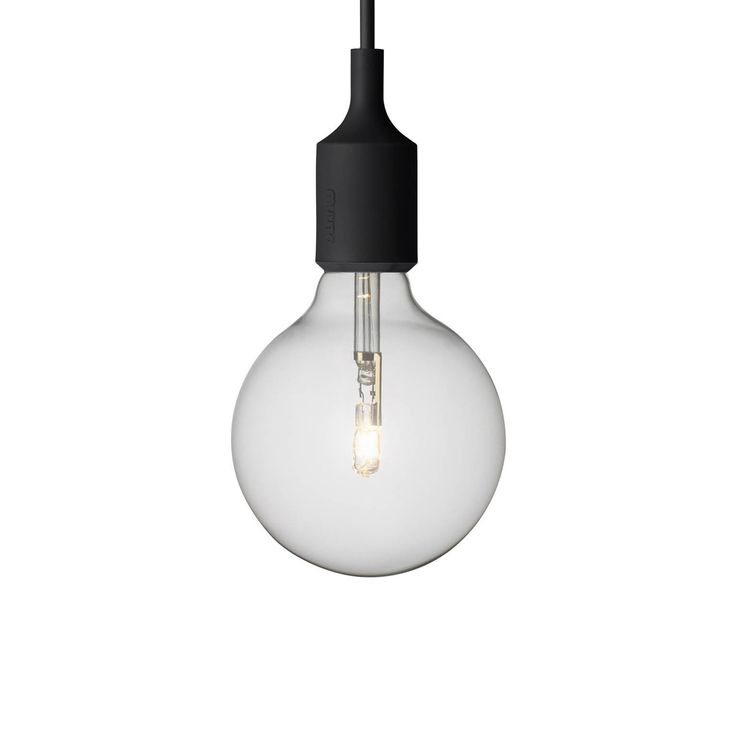 "Named for the screw base developed by Thomas Edison - this socket light celebrates the simplicity of the naked bulb. Use as a single light source or hang in clusters under the white e27 pendant canopy. Visit our exclusive Muuto shop in Manhattan, on 2. Note: Canopy sold separately.<br /><br />Deriving its name from the Finnish word for ""new perspective,"" Muuto brings a fresh evolution to Scandinavian design, while channeling the heritage of mid-century modern."