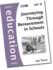 Very practical booklet to help school communities when a death has happened. Written from a Christian viewpoint, it explores how to help schools prepare for an expected death, or respond to an unexpected one. It talks about the place of faith and ritual to help with the grieving. Clergy would find it useful in church communities too.