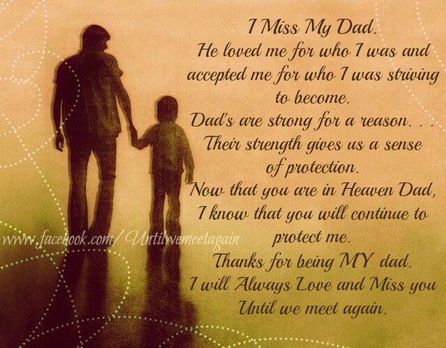happy father's day heaven poem