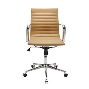 Fresno Mid Back Chair Camel - hard to find office chairs that aren't black  white, red or blue!