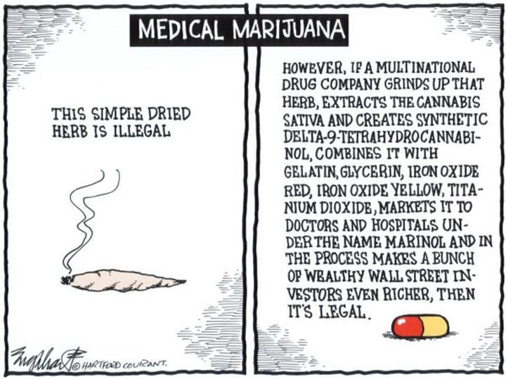 It's a shame... drug companies have most of our country brainwashed