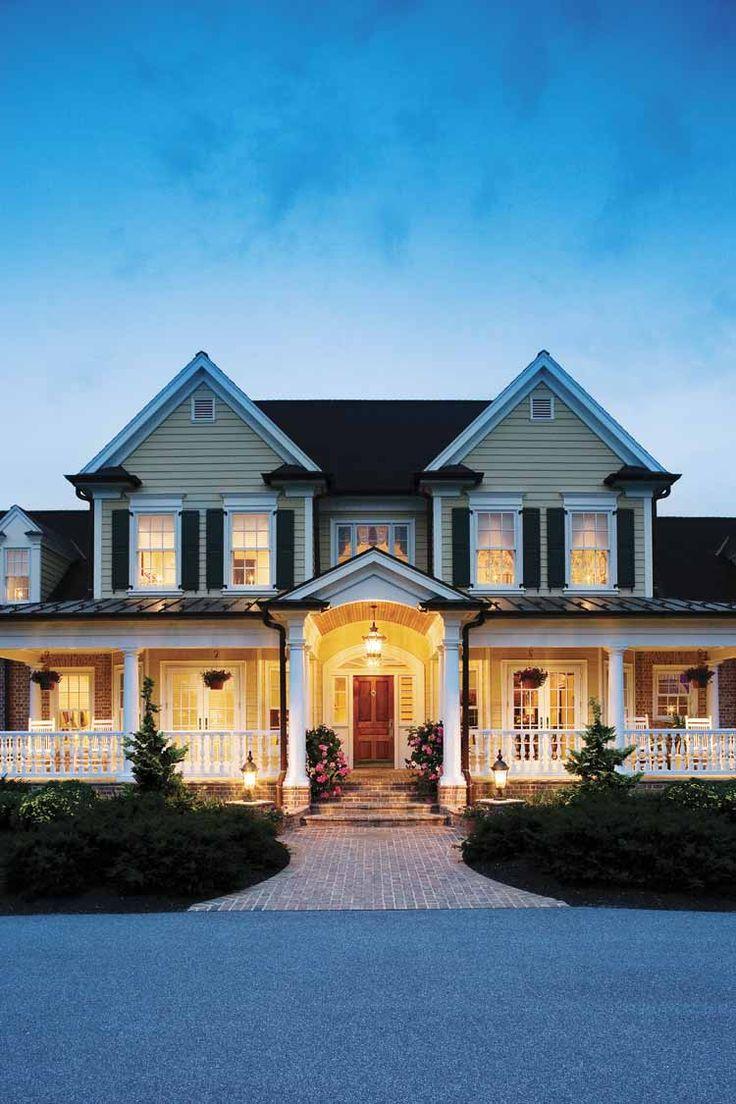 Gorgeous wrap-around porch