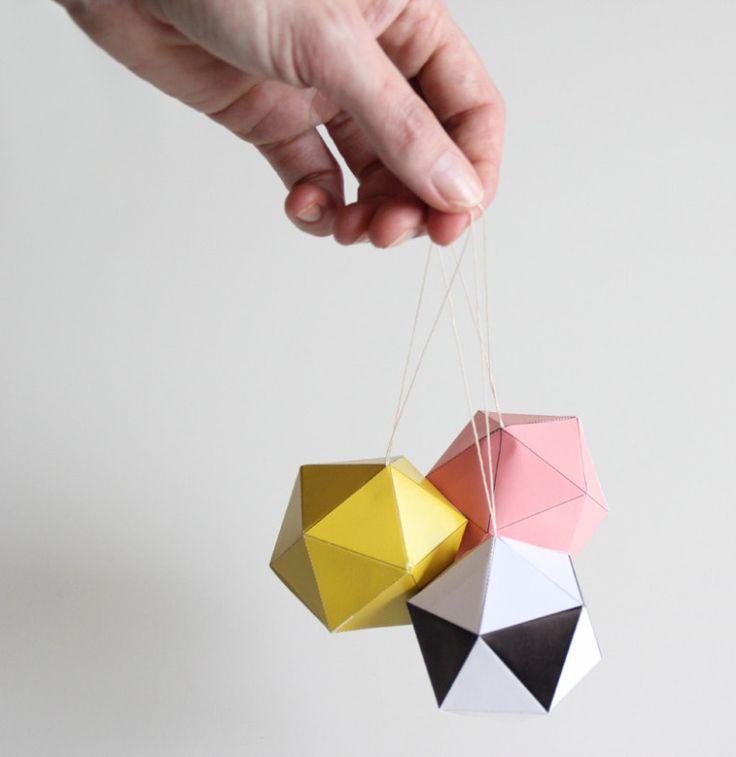 Contemporary Christmas Ornaments – Snug Studio | The Design Tabloid
